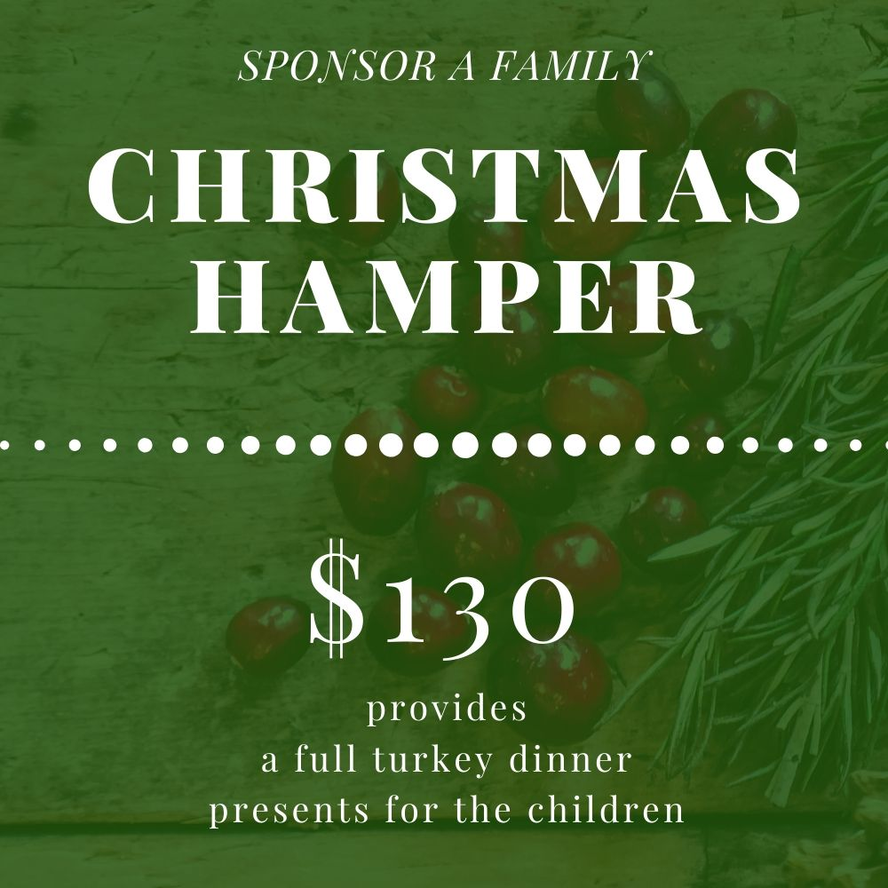 Christmas Hamper 2019 Donate Page